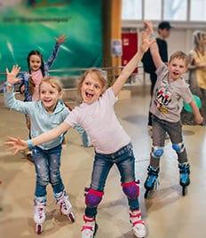 РОЛЛЕРДРОМ «Олимпийский», всем гостям скидка 50%, активный отдых для всей семьи в Пензе