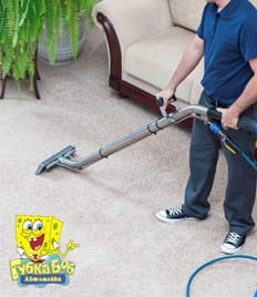 Подарите своим коврам летнюю свежесть! Химчистка ковров со скидкой 50% от компаний «CAR WASH» и «Губка Боб»!