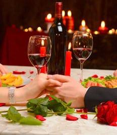 «Романтический ужин» для компаний от 2х до 6 персон в ресторане «Provance» (Прованс) со скидкой 65%!