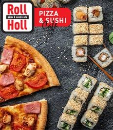 Вкусная пицца, роллы скидка 50% от компании - «Roll Holl» (Ролл Холл)