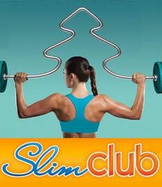 Красивая фигура к Новому Году! Скидка 70% на программы для похудения от «Slimclub».