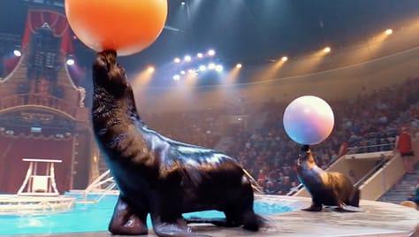 Скидка 100% на 4й билет «Цирк на воде» в г. Пенза — oдин из крупных передвижных цирковых шоу Европы!