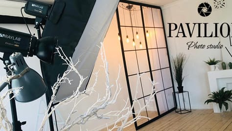 Аренда фотостудии «Pavilion» со скидкой 33%!