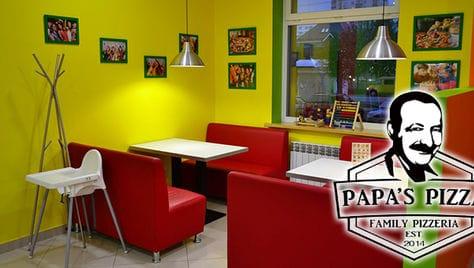 Пробуем вкусную пиццу со скидкой 50% от «PAPA'S PIZZA» (Папас - пицца).!