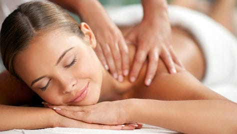 SPA-программы, общий, антицеллюлитный или классический массаж спины с посещением инфракрасной соляной сауны в бизнес-центре «Азимут»