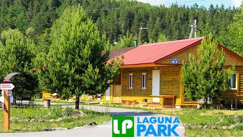 Уютные Гостевые  дома от базы отдыха «Лагуна - парк» со скидкой 50%